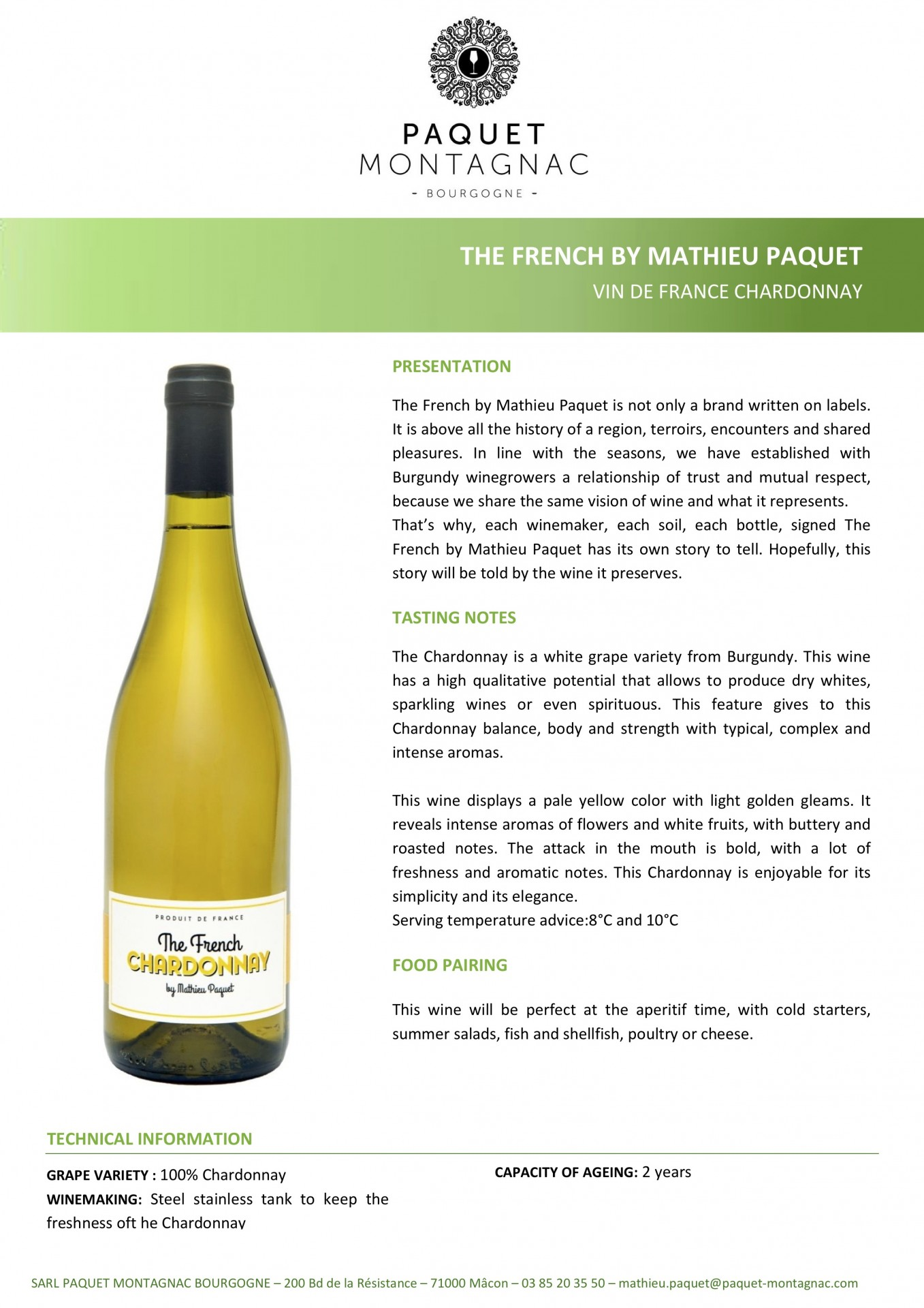 The French Chardonnay