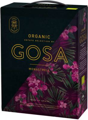 Gosa - organic Monastrell 2018 - bag in box
